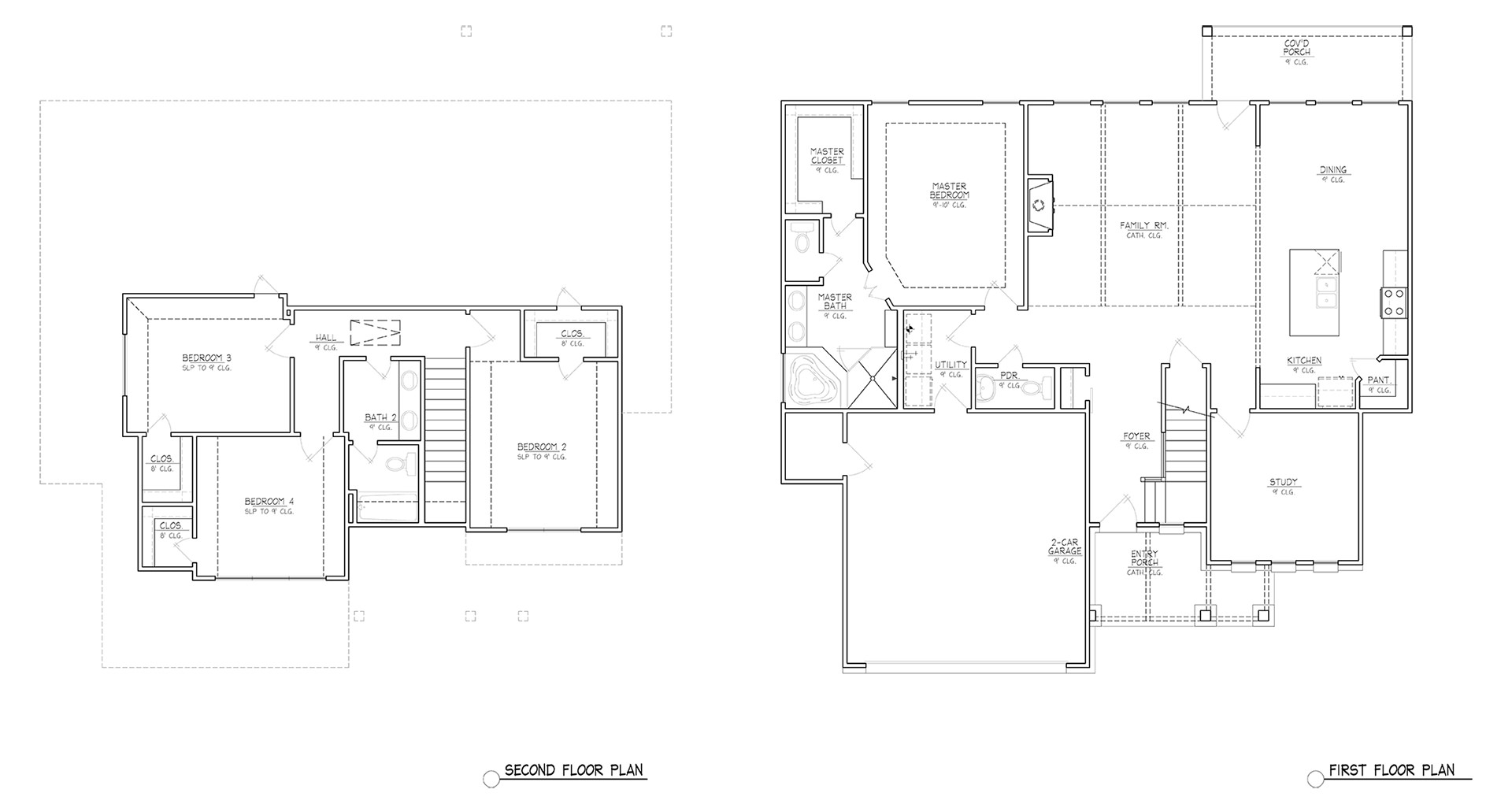 Dawns Edge First Floor Plan
